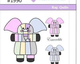 Echo Elephant Rag Quilt