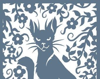 Wildcat Giclee print