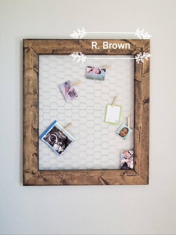Rustic Chicken Wire Frame. 4x6 frame 2x3 frame Polaroid   Etsy