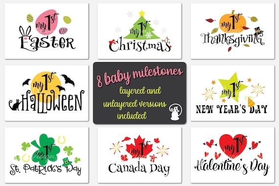 Get Baby's First Holidays Bundle Design