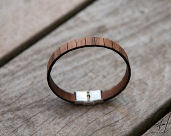 Bracelet Walnut wood