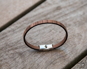 Bracelet Walnut wood