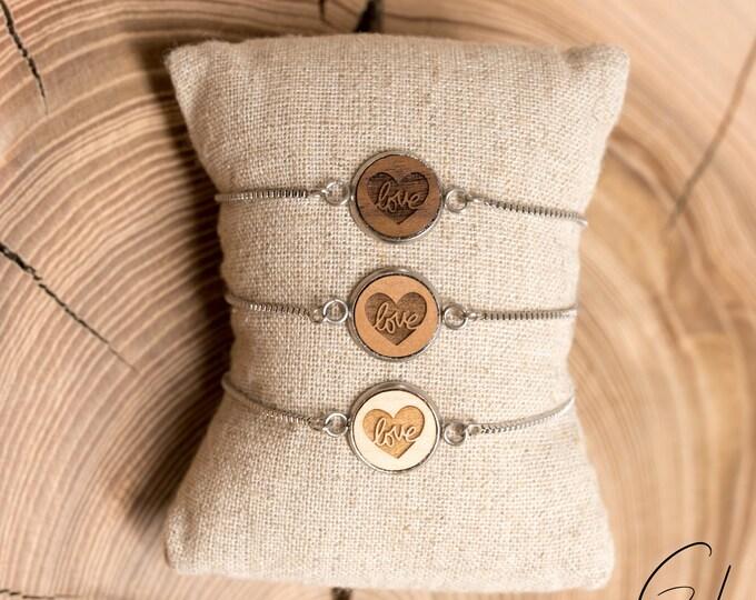 Bracelet Flexi Heart-Love
