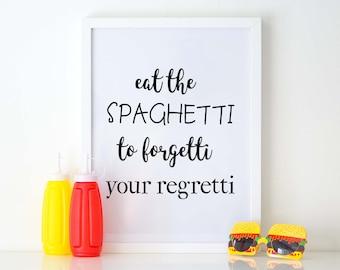 Eat the Spaghetti