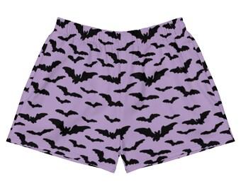 Purple Bat Shorts - Size XS-2X