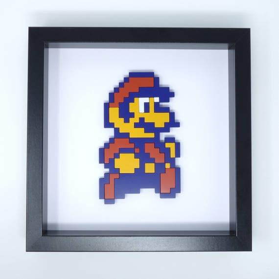 Super Mario 8 Bit Art Super Mario Bros 2 Mario Pixel Art Retro Gaming Gift