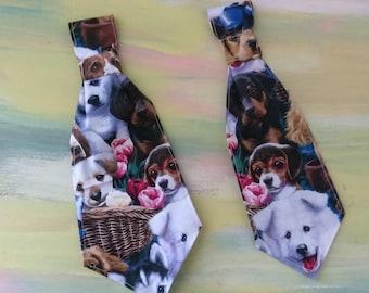 Slip on dog tie