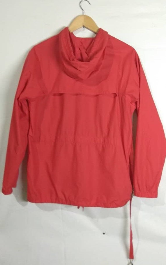 Light Medium Bondage Red made Helmut Italy Jacket Lang Windbreaker Collapsible Rare FqgawXZva