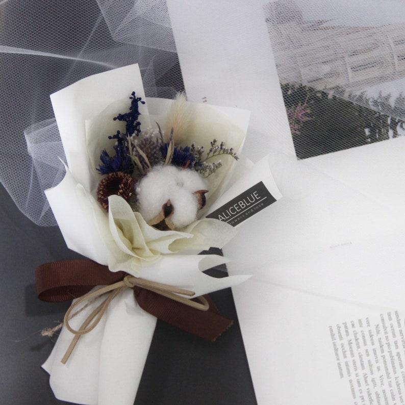 Mini Cotton Bouquet Midnight