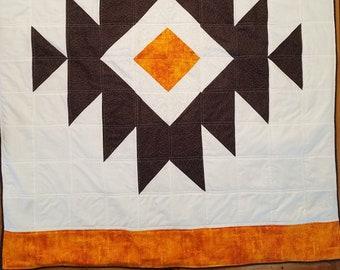 Aztec Design Lap Quilt/Sofa Throw