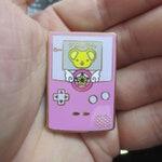 Cardcaptor Sakura Kero Themed Gameboy Hard Enamel Pin