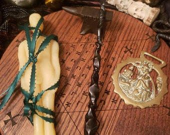 Hand forged blackthorn blasting rod