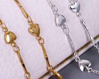 Extension Chains Extender Tail Links Necklace Bracelet Earring Jewelry Making UW