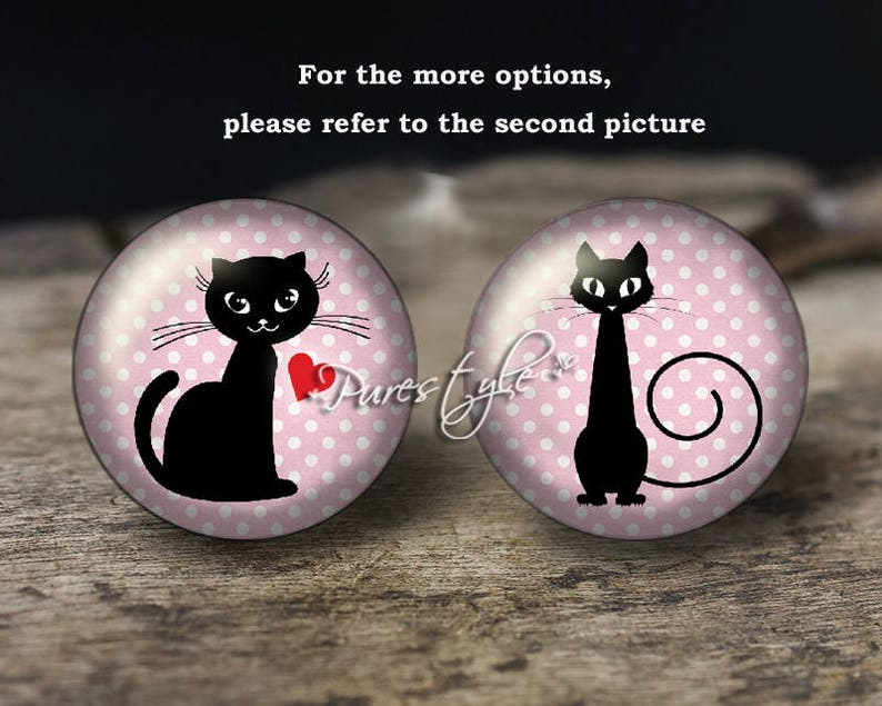 Cat,Handmade Photo Glass Cabochon,Round cabochons,Cabs Cabochons,Image Glass Cabochon,glass cabochons,Dome cabochons