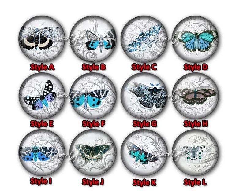 Butterfly Glass Cabochon,Handmade Photo Glass Cabochon,Round cabochons,Cabs Cabochons,Image Glass Cabochon,glass cabochons,Dome cabochon