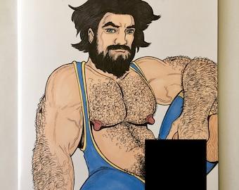 Large naked hairy women having hard cor sex