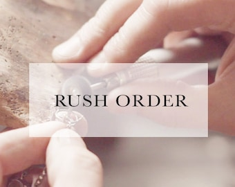 UPGRADE • Rush Order with Priority Mail Shipping