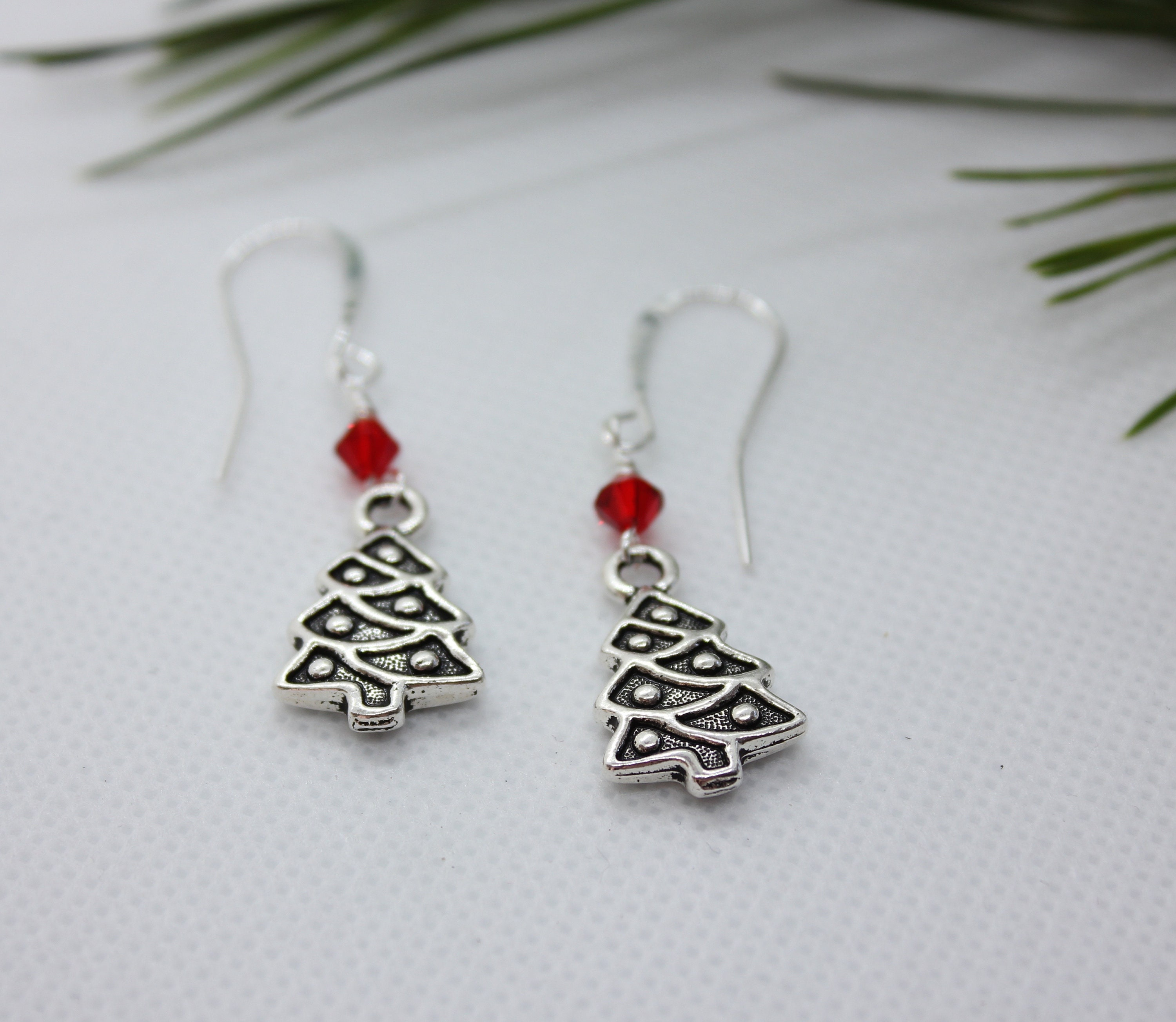 Christmas Earrings, Christmas Jewelry, Christmas Tree, Christmas ...
