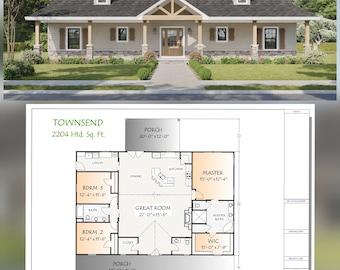 Townsend Plan,  2204 Heated Square Feet