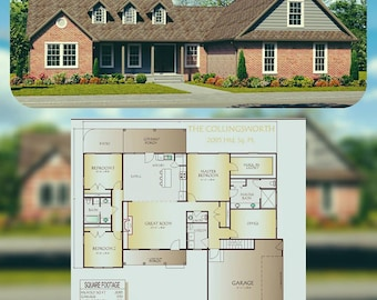 Collingsworth House Plan, 2095 Square Feet