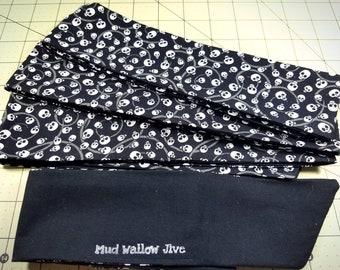 Headband - Hair tie - Halloween - Happy Little Skulls