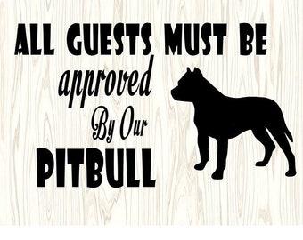 Pitbull quotes | Etsy