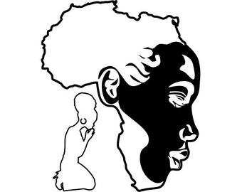 savannah svg etsy Safari Cheetah RV africa continent african american black people beautiful nature roots svg eps vector clipart digital download circuit cut cutting