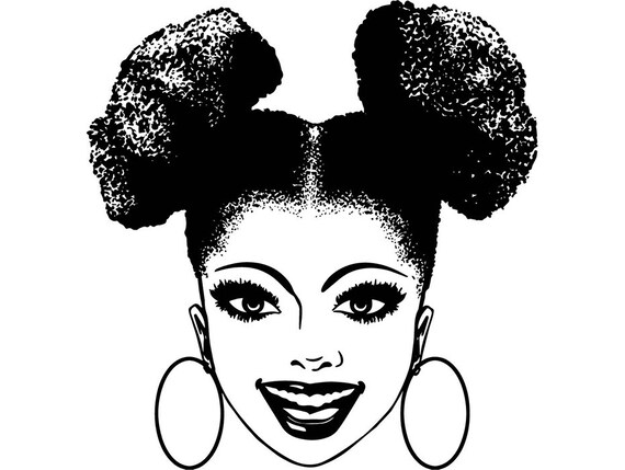Afro Womanafro Puff Hairstyle Nubian Princess Queen Beautiful Etsy
