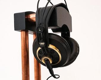 HEADPHONE STAND, Headphone, Headphones stand, Headphone holder, Headset stand, Wood headphone stand, Headphone dock, Audiophile, 18th