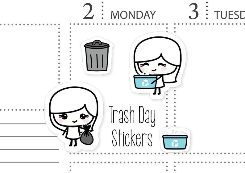Trash Day Blushy Stickers image 0