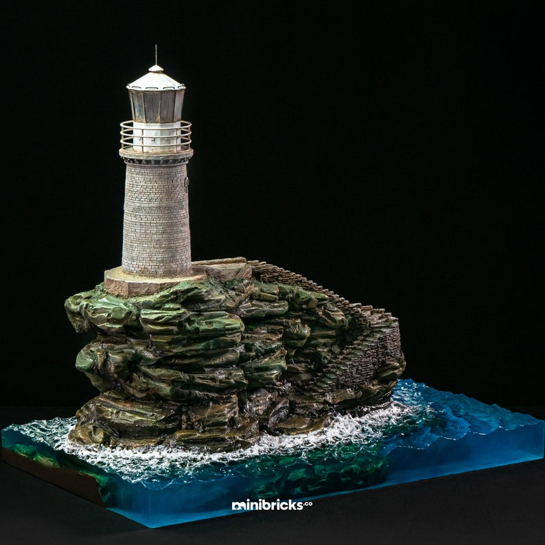 Turlitis Lighthouse Andros Island Greece image 0