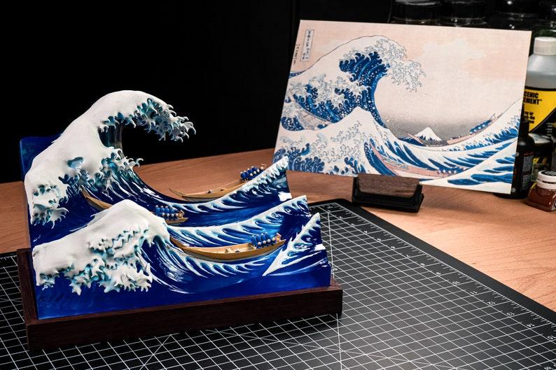The Great Wave off Kanagawa miniature image 0