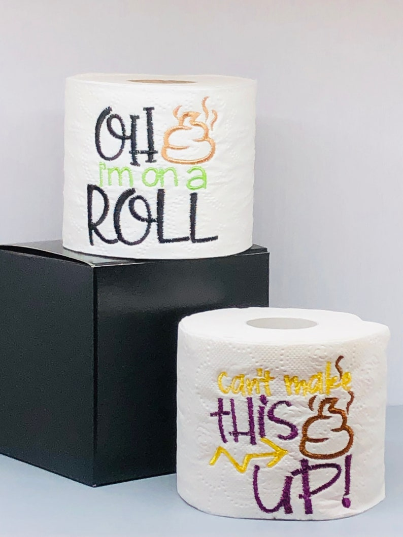 Funny Birthday Gift Novelty Toilet Paper Gag Gifts For Men