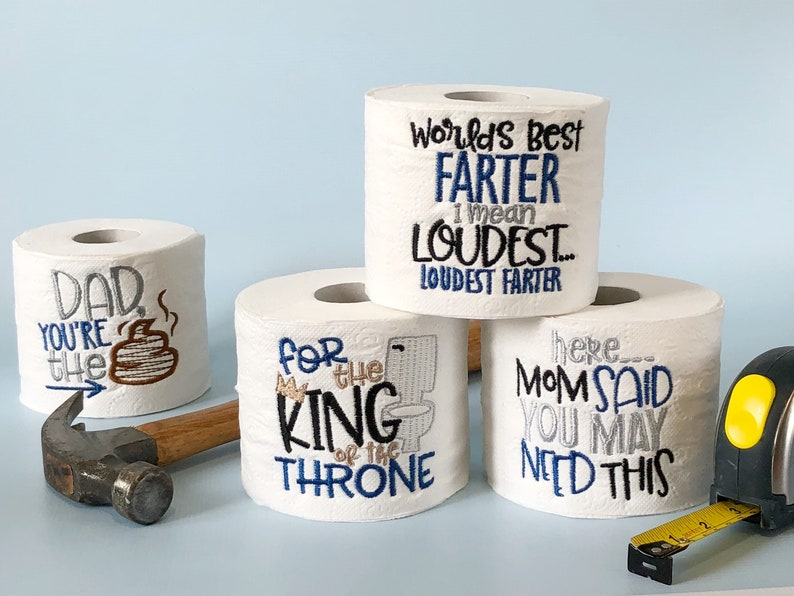 Gifts For Dad Gift Birthday Novelty Toilet Paper