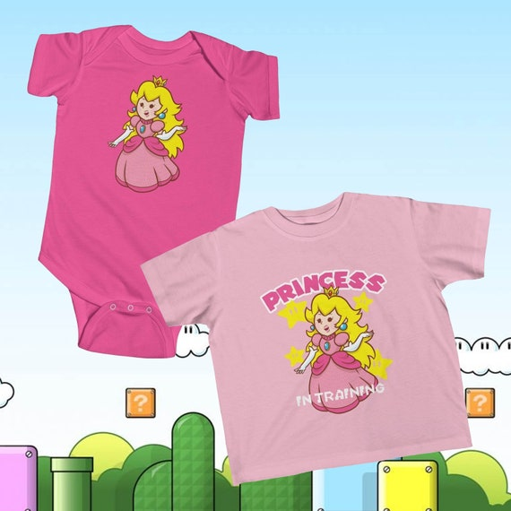 Cutie Princess Peach Infant Onesie