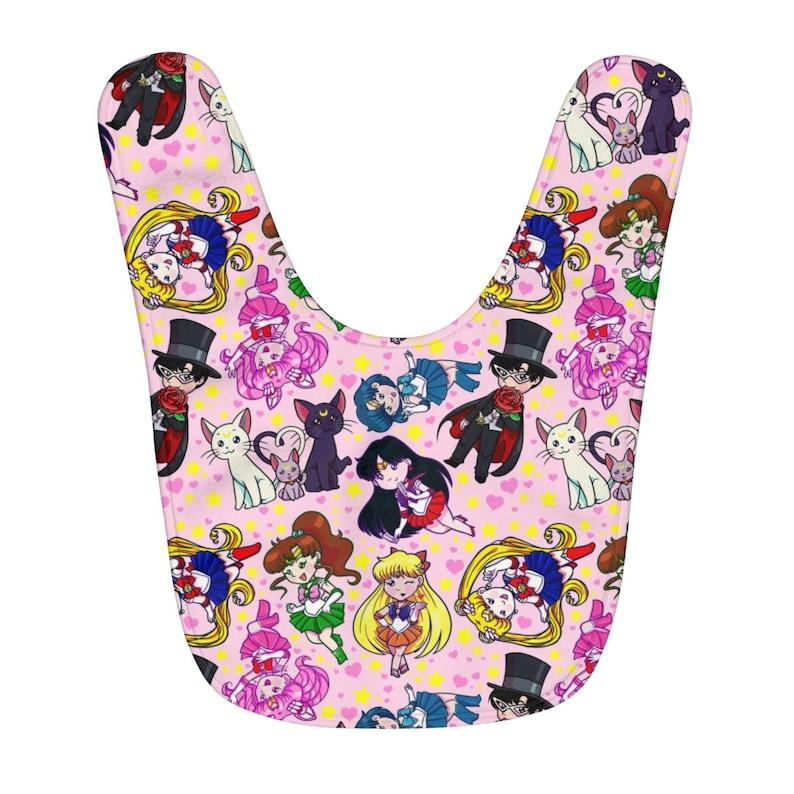 cb2483319db Cutie Sailor Moon Baby Bib