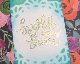 Sparkle and Shine Bookmark