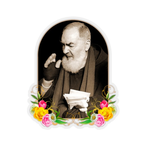 Adhesive Padre Pio from St..