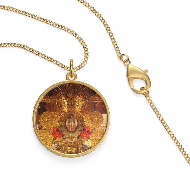 Pendant Believers Jewelry Religious Accessories Necklace Virgin Mary Necklace