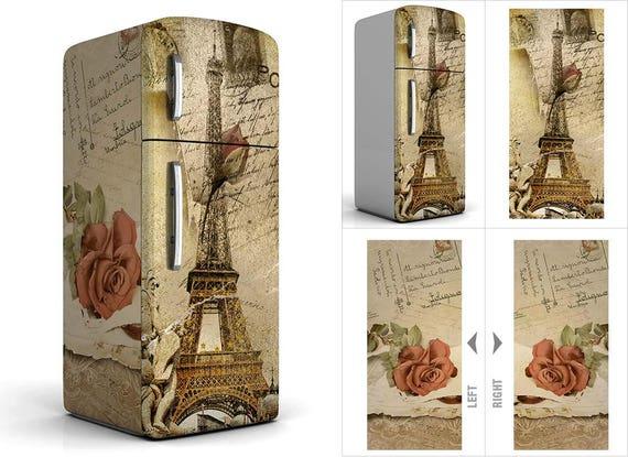 Kühlschrank Aufkleber : Kühlschrank vinyl aufkleber kühlschrank aufkleber etsy