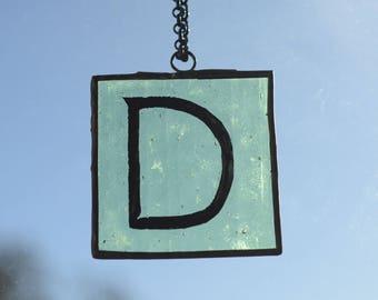 Letter D Pendant