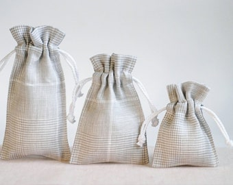 Handmaded Craft Drawstring Storage Bags 100/% Cotton Canvas Lace Fabric Gift Pouch Muslin Grocery Sack Wedding Favour Bag Bulk