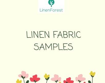Linen fabric samples, fabric samples, linen favor bags, wedding favor bags samples