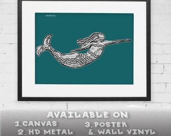 Norfolk mermaids | Etsy