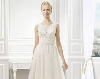 BoHo Chic Wedding Gown MoonLight J6344