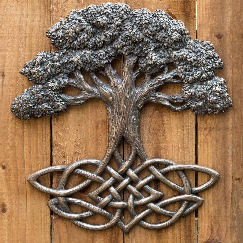 Yggdrasil Tree of Life Wall Hanging image 0
