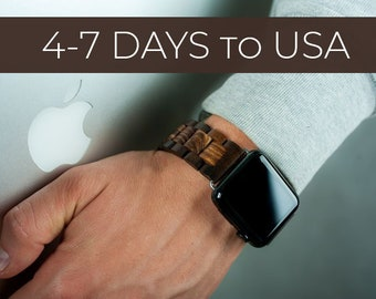 f83d77b02 iWatch strap,Apple watch wood bracelet,Smart watch band,42mm watch band,Apple  watch jewelry,38mm apple watch,Watchband,iWatch bracelet
