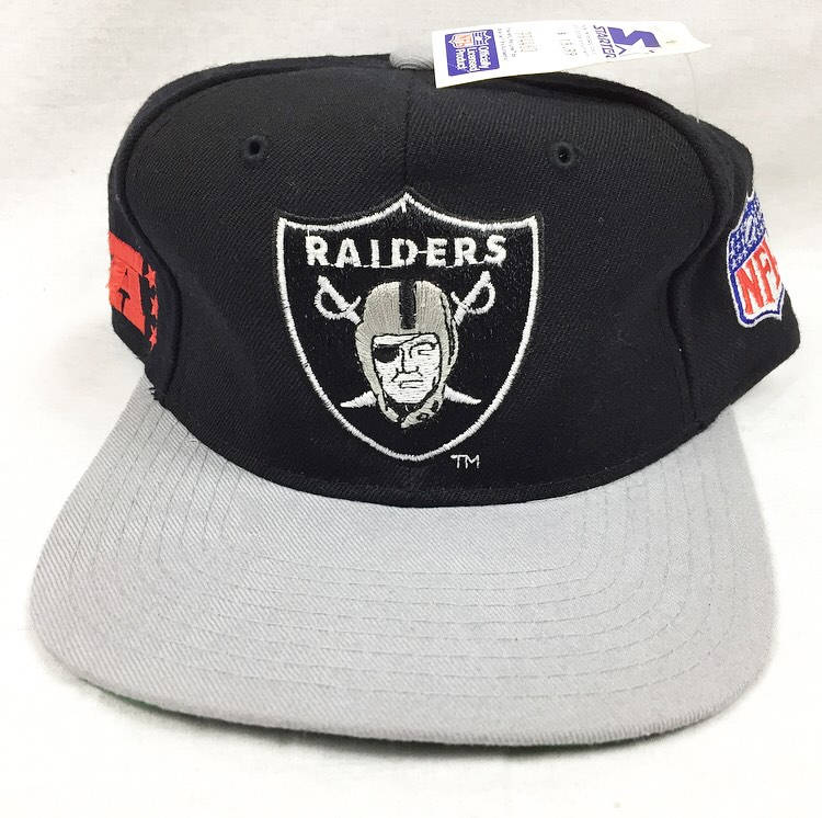 01410ebb4b8 ... purchase vintage los angeles raiders oakland raiders starter snapback  cap new with tags nwa eazy e