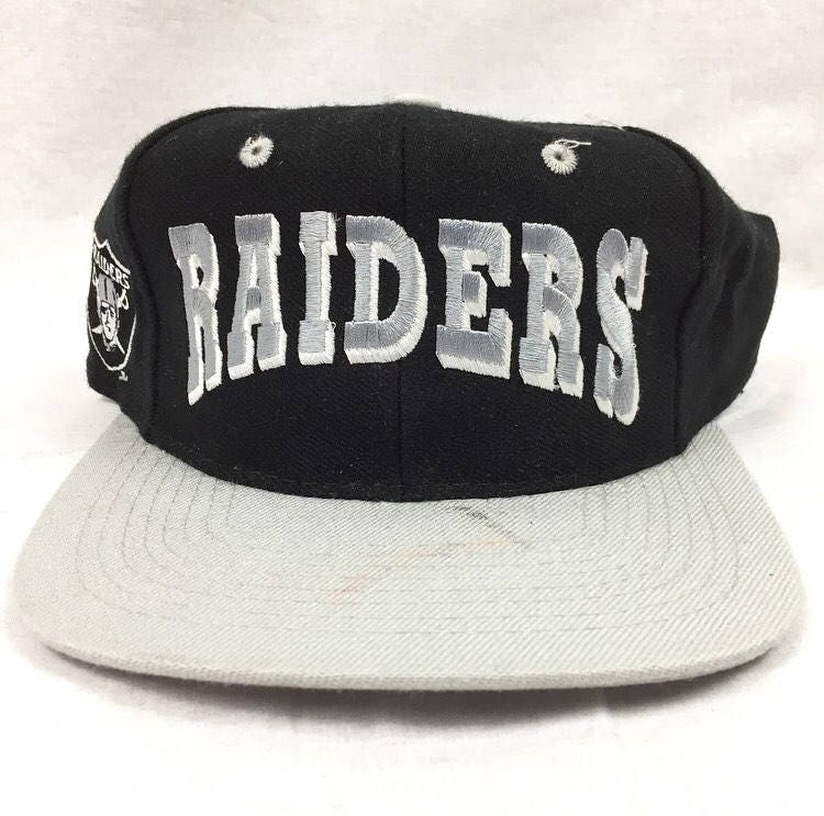 5b5aa6d433f ... discount code for vintage los angeles raiders oakland raiders new  without tags snapback cap script nfl