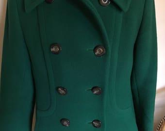 Vintage Aquascutum wool coat 1970s